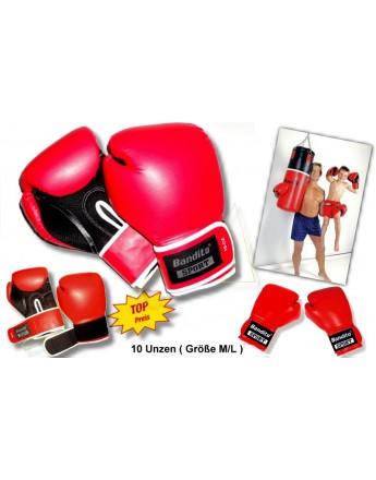 Boxhandschuh Bandito 10 Unzen, Größe M/L