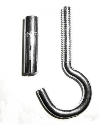 Deckenhaken mit Spezial-Metalldübel (M-6)