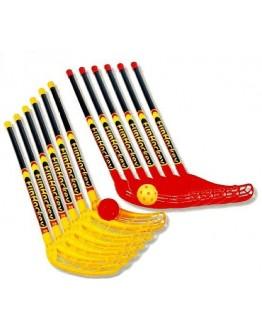 FunHockey (Floorball) Schläger - Spar - Set, ideal für den Schul- und Teamsport